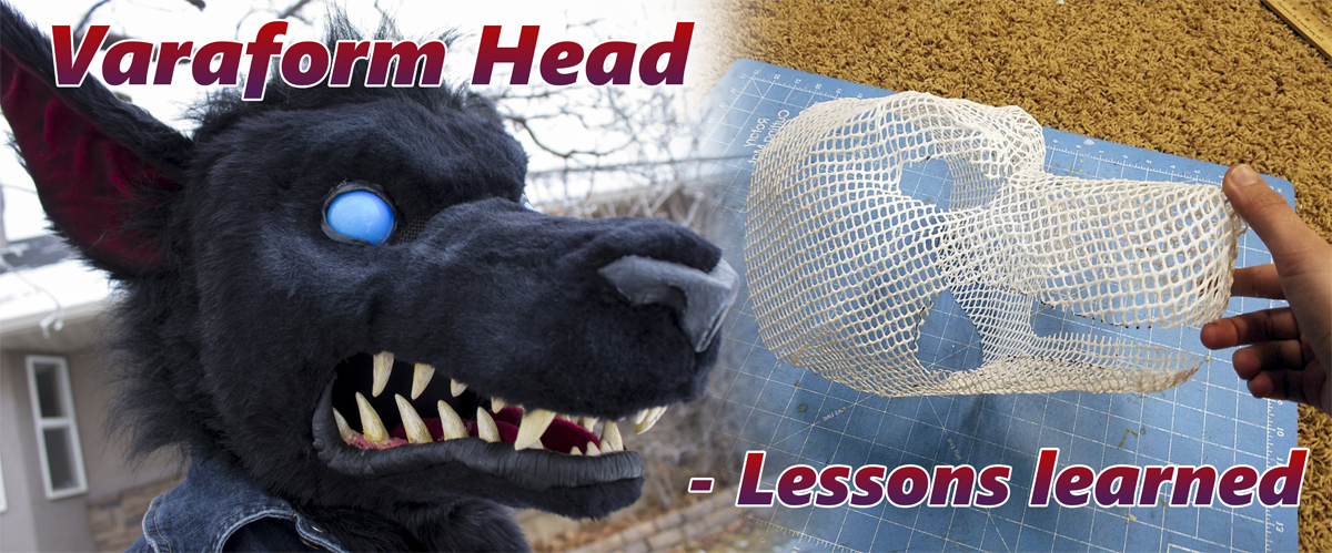 How to build a creature cosplay/mascot/fursuit head with